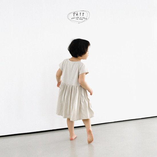 IKII - Korean Children Fashion - #Kfashion4kids - Cats One-piece - 5