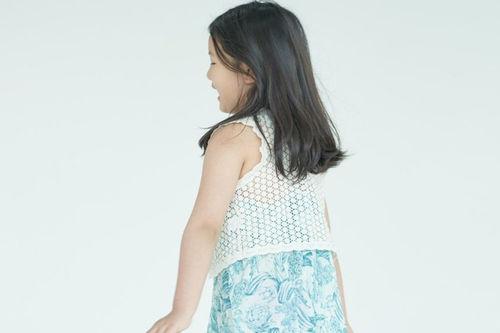 KURENARD - BRAND - Korean Children Fashion - #Kfashion4kids - Lace Volero
