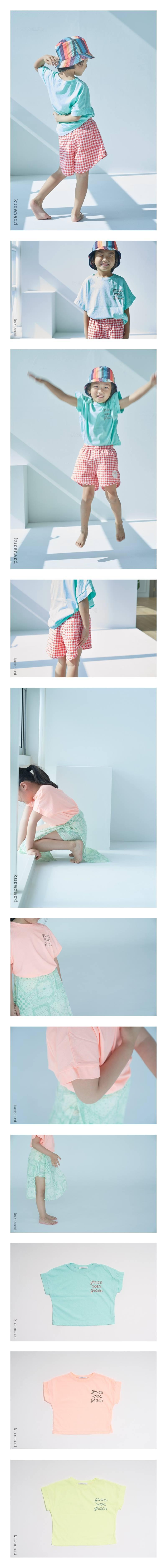 KURENARD - Korean Children Fashion - #Kfashion4kids - Grace Tee