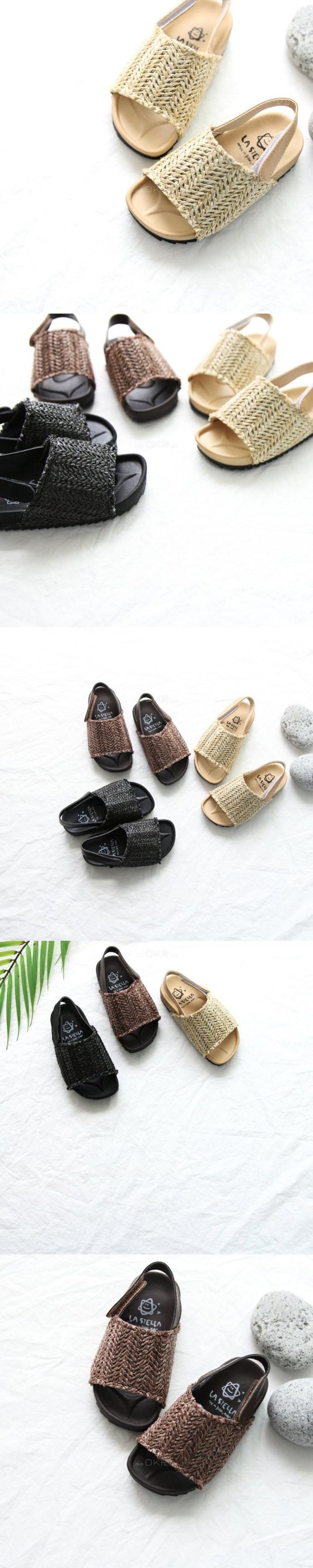 LA STELLA - Korean Children Fashion - #Kfashion4kids - Latan Sandal