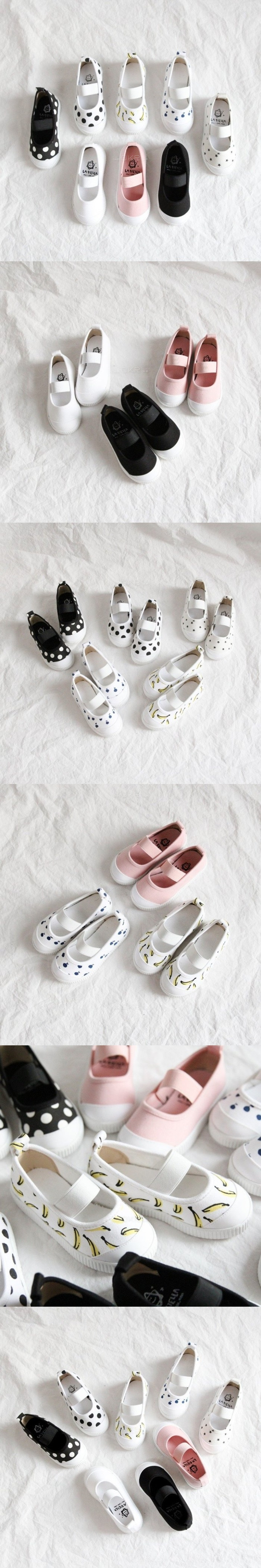 LA STELLA - Korean Children Fashion - #Kfashion4kids - Basic Slip-on