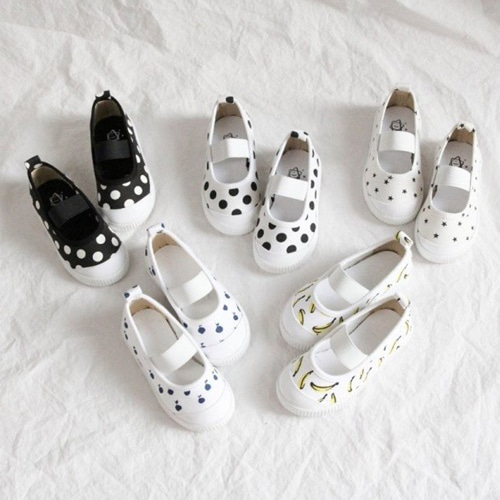 LA STELLA - BRAND - Korean Children Fashion - #Kfashion4kids - Basic Slip-on