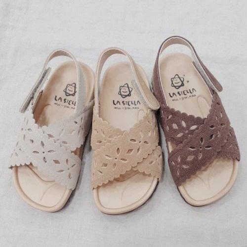 LA STELLA - BRAND - Korean Children Fashion - #Kfashion4kids - Sage Sandal
