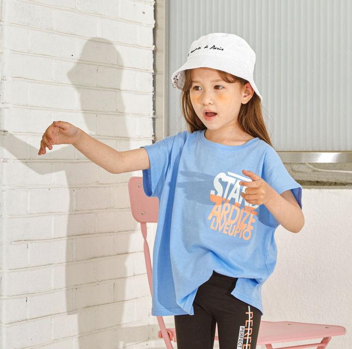 LILAS - Korean Children Fashion - #Kfashion4kids - Multi Color Long Tee