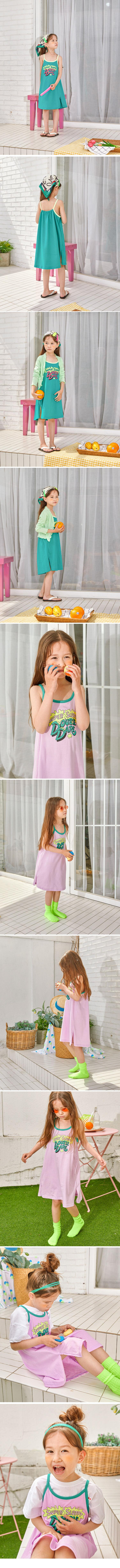 LILAS - Korean Children Fashion - #Kfashion4kids - Sluppy One-piece - 2