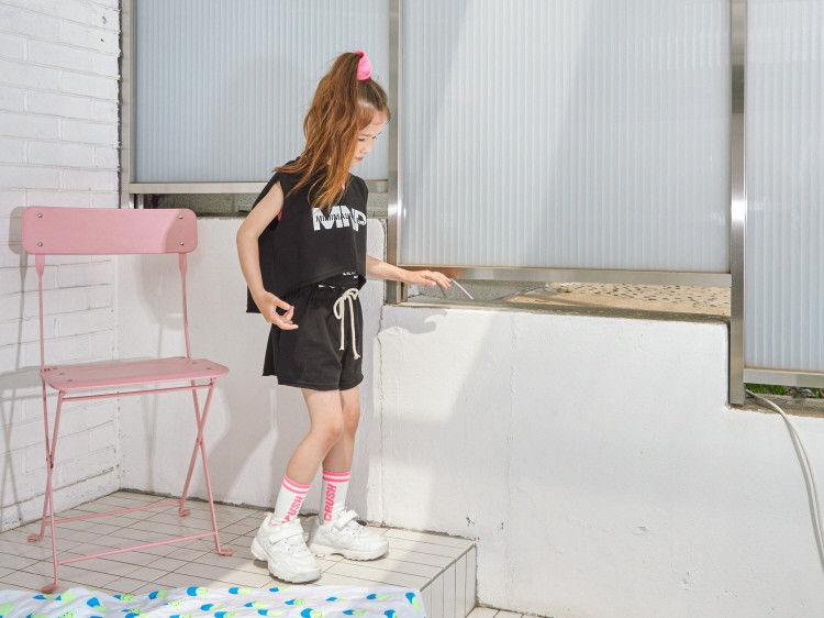 LILAS - Korean Children Fashion - #Kfashion4kids - Minimal Top Bottom Set