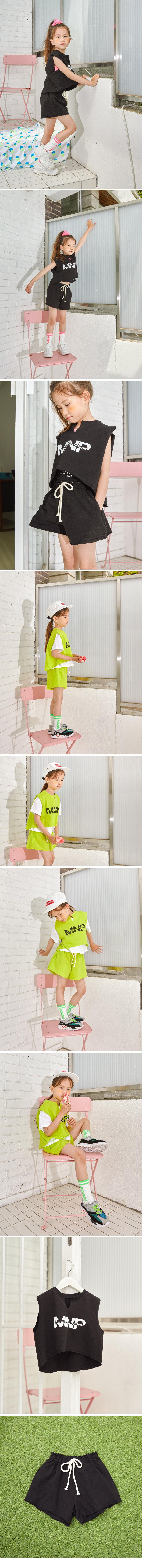 LILAS - Korean Children Fashion - #Kfashion4kids - Minimal Top Bottom Set - 2