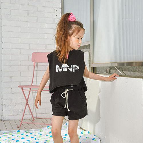 LILAS - BRAND - Korean Children Fashion - #Kfashion4kids - Minimal Top Bottom Set