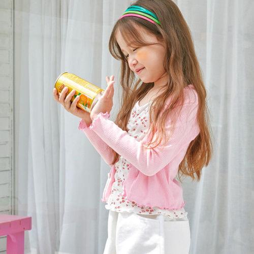 LILAS - BRAND - Korean Children Fashion - #Kfashion4kids - Retro Flower Cardigan Set
