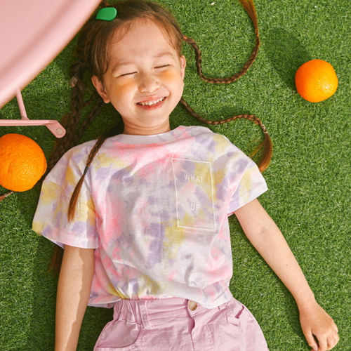 LILAS - BRAND - Korean Children Fashion - #Kfashion4kids - Painting Tee