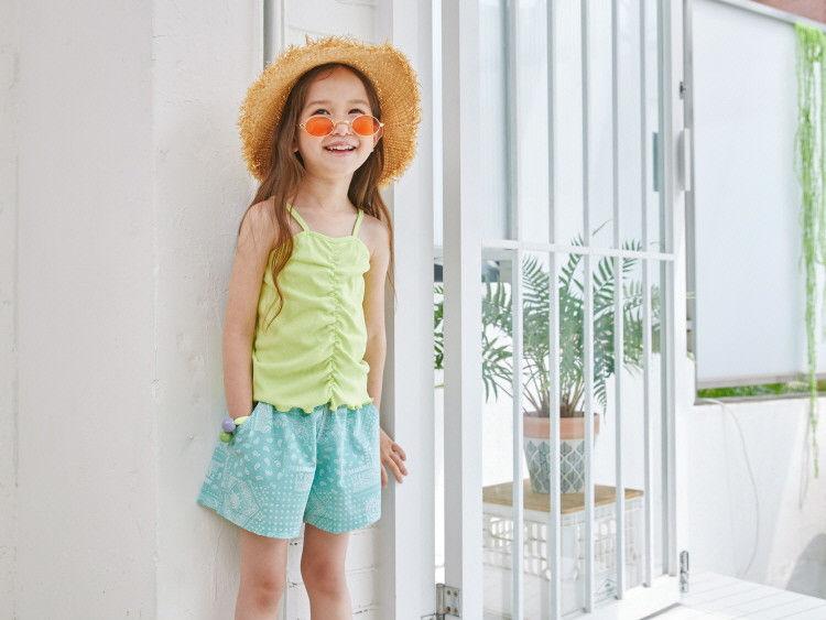 LILAS - Korean Children Fashion - #Kfashion4kids - String Sleeveless Tee
