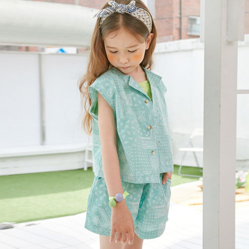 LILAS - BRAND - Korean Children Fashion - #Kfashion4kids - Bandana Set