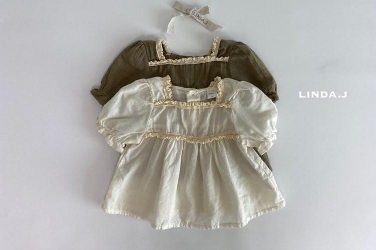LINDA J - BRAND - Korean Children Fashion - #Kfashion4kids - Angela Blouse