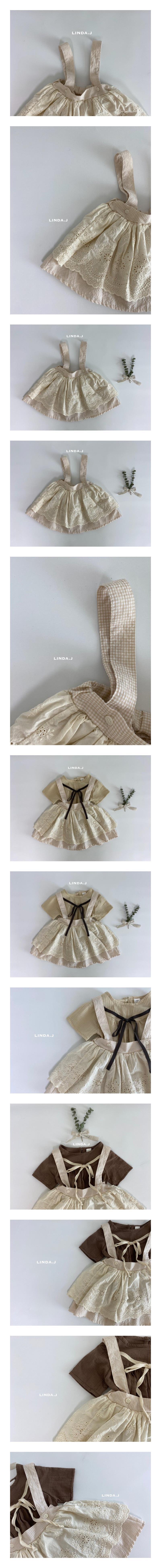 LINDA J - Korean Children Fashion - #Kfashion4kids - Jay Suspender Skirt