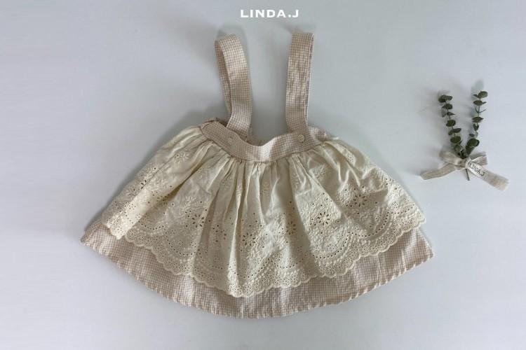 LINDA J - BRAND - Korean Children Fashion - #Kfashion4kids - Jay Suspender Skirt