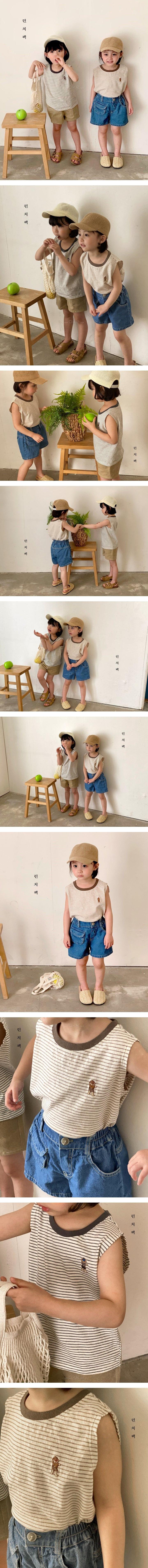 LUNCHPACK - Korean Children Fashion - #Kfashion4kids - Bebe Sleeveless Tee