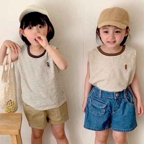 LUNCHPACK - BRAND - Korean Children Fashion - #Kfashion4kids - Bebe Sleeveless Tee