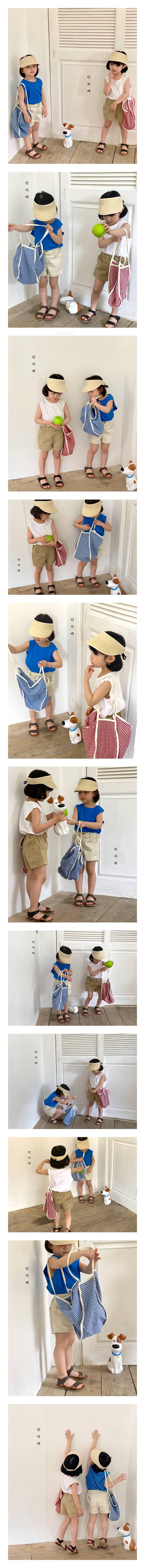 LUNCHPACK - Korean Children Fashion - #Kfashion4kids - Pocket Sleeveless Tee
