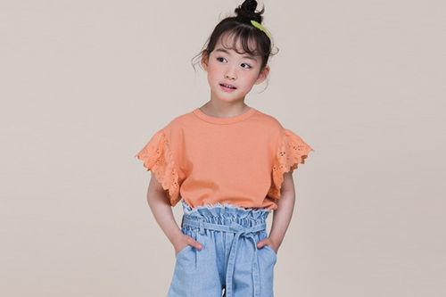 MILK POWDER - BRAND - Korean Children Fashion - #Kfashion4kids - Cozy Lace Tee