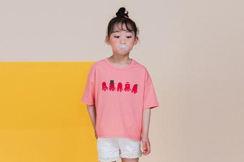 MILK POWDER - BRAND - Korean Children Fashion - #Kfashion4kids - Sausage Tee