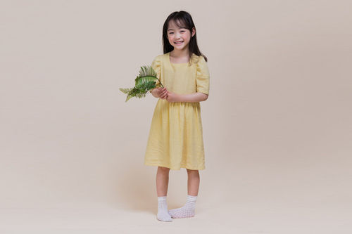 MILK POWDER - BRAND - Korean Children Fashion - #Kfashion4kids - Linen One-piece