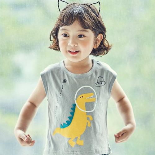 MIMICO - BRAND - Korean Children Fashion - #Kfashion4kids - Dino Tee