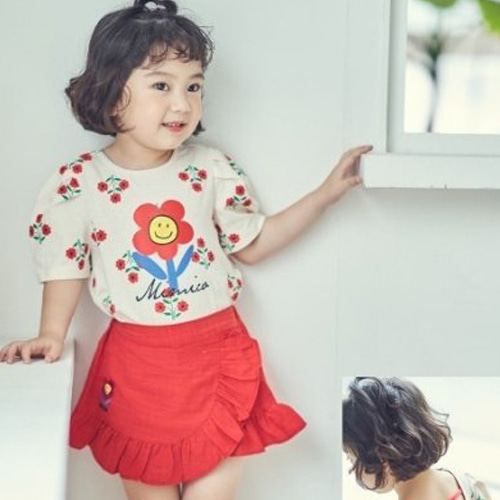 MIMICO - BRAND - Korean Children Fashion - #Kfashion4kids - Daisy Tee