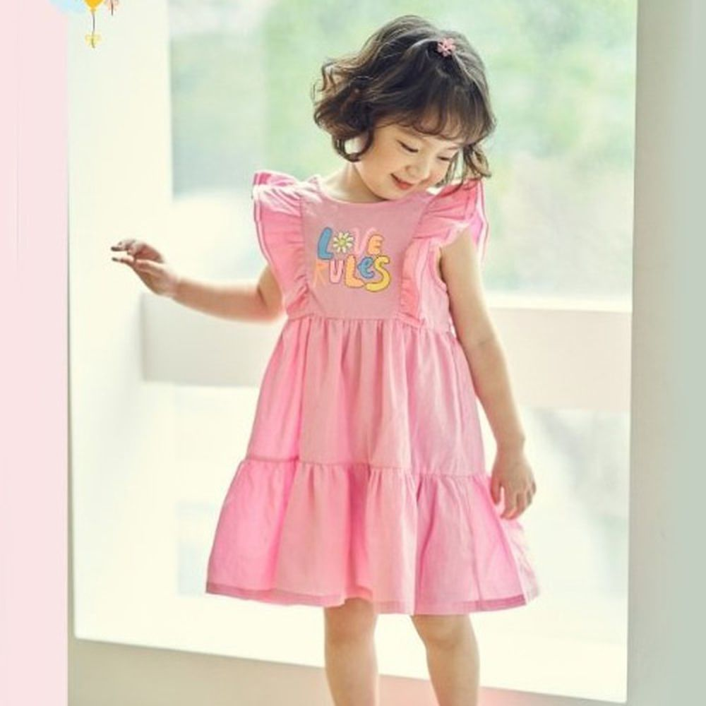 MIMICO - BRAND - Korean Children Fashion - #Kfashion4kids - Love One-piece