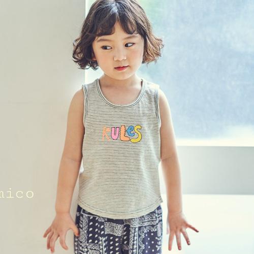 MIMICO - BRAND - Korean Children Fashion - #Kfashion4kids - Rule Tee