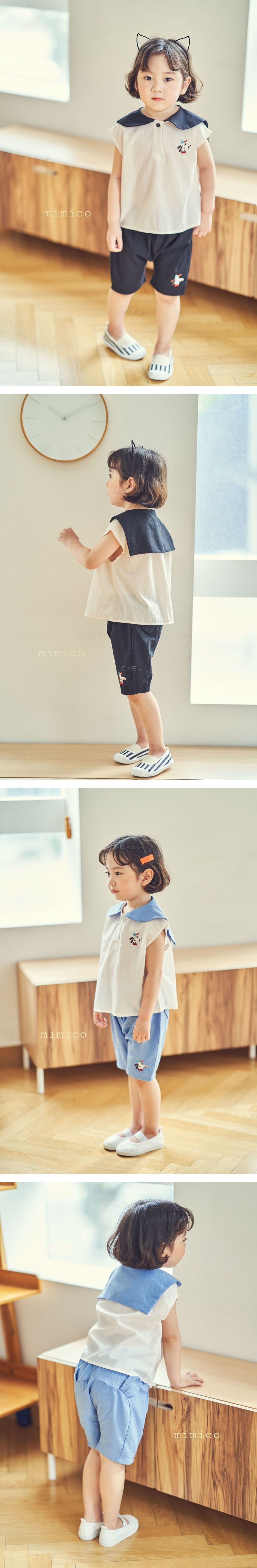 MIMICO - Korean Children Fashion - #Kfashion4kids - Puppy Short Pants
