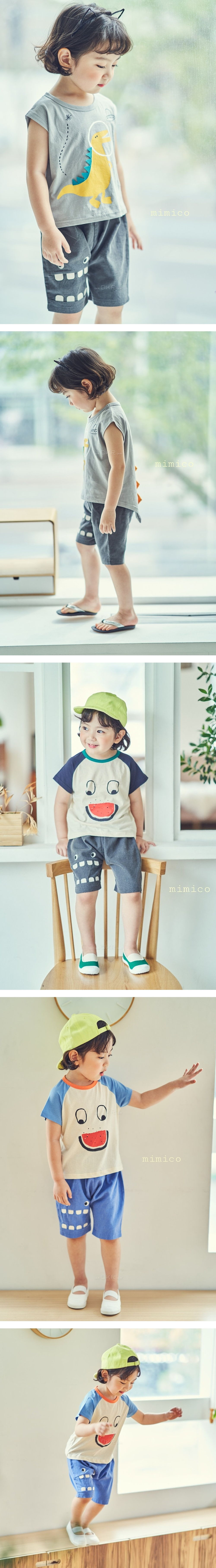 MIMICO - Korean Children Fashion - #Kfashion4kids - Waing Shorts