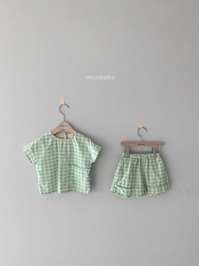 MONBEBE - Korean Children Fashion - #Kfashion4kids - Cool Top Bottom Set