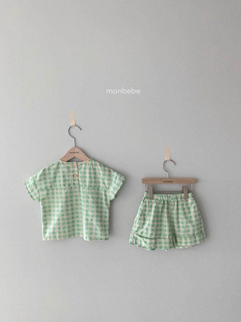 MONBEBE - Korean Children Fashion - #Kfashion4kids - Cool Top Bottom Set - 4