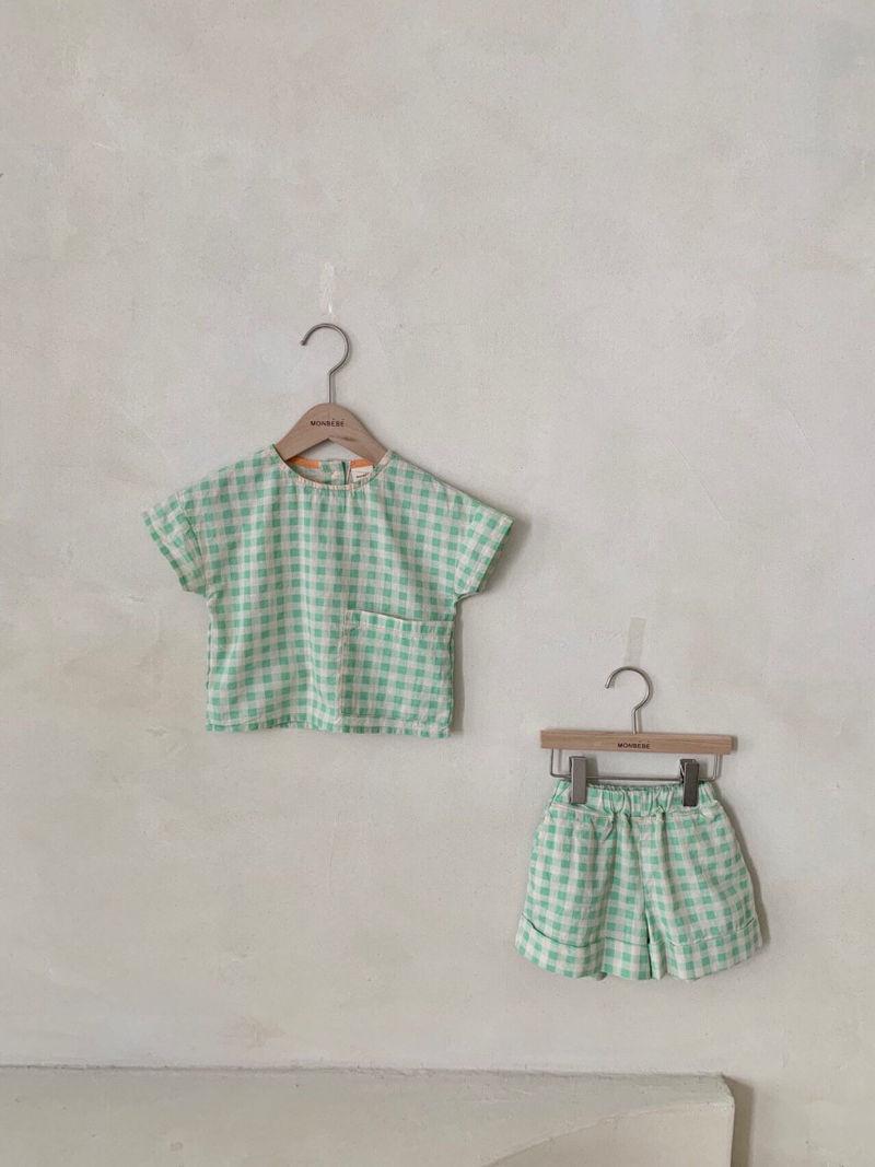 MONBEBE - Korean Children Fashion - #Kfashion4kids - Cool Top Bottom Set - 7