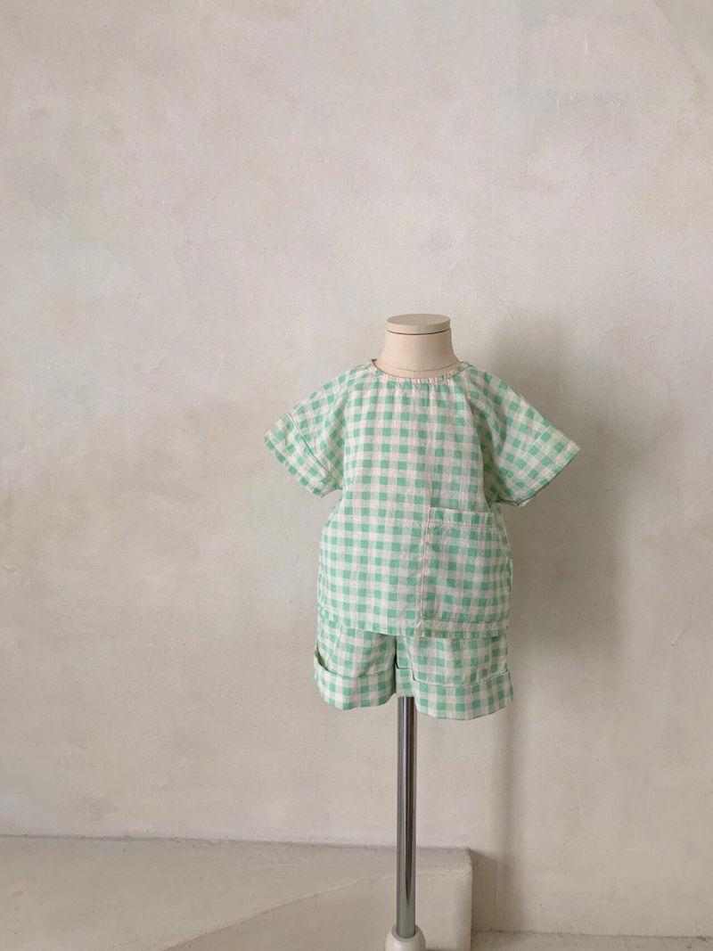 MONBEBE - Korean Children Fashion - #Kfashion4kids - Cool Top Bottom Set - 9