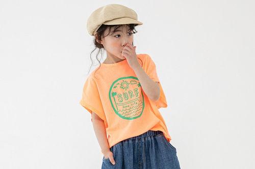 NAVI - BRAND - Korean Children Fashion - #Kfashion4kids - Surf Tee