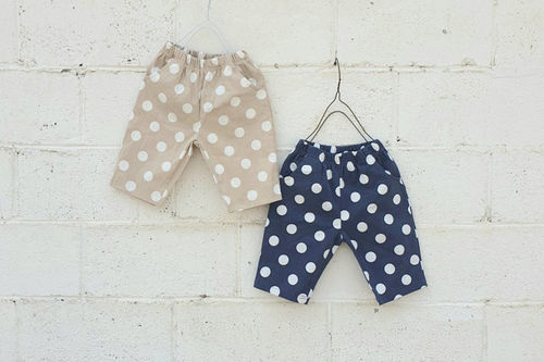 NESTAR - BRAND - Korean Children Fashion - #Kfashion4kids - Dot Short Span Pants