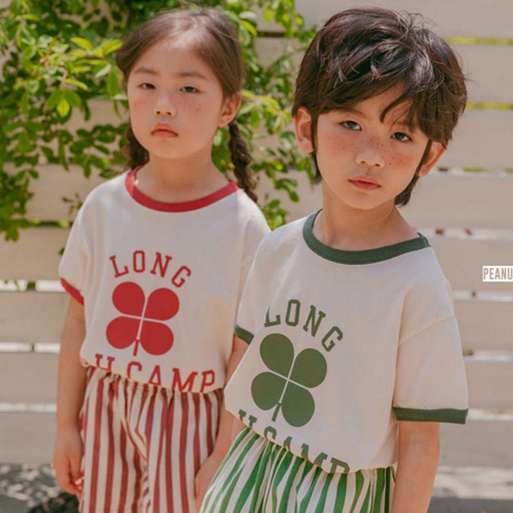 PEANUT - BRAND - Korean Children Fashion - #Kfashion4kids - Clover Tee