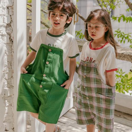 PEANUT - BRAND - Korean Children Fashion - #Kfashion4kids - Well Being Suspender Shorts