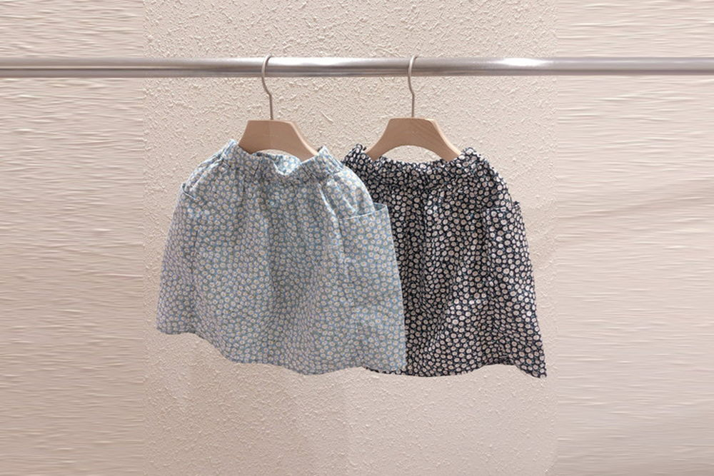 STUDIO M - BRAND - Korean Children Fashion - #Kfashion4kids - Daisy Flower Skirt