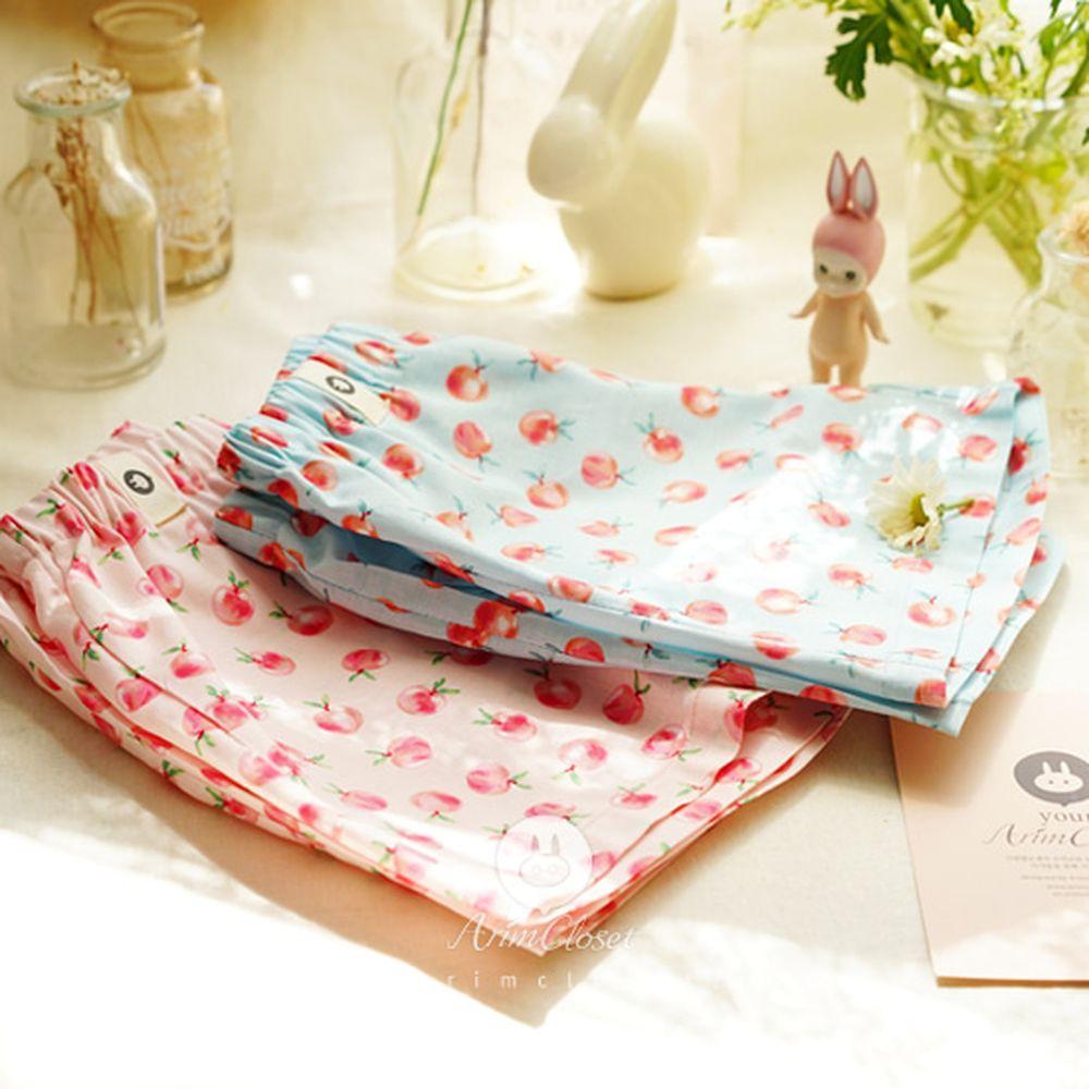 ARIM CLOSET - BRAND - Korean Children Fashion - #Kfashion4kids - Peach Cotton Pants