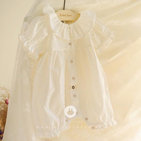 ARIM CLOSET - BRAND - Korean Children Fashion - #Kfashion4kids - Pure All Open Baby Bodysuit