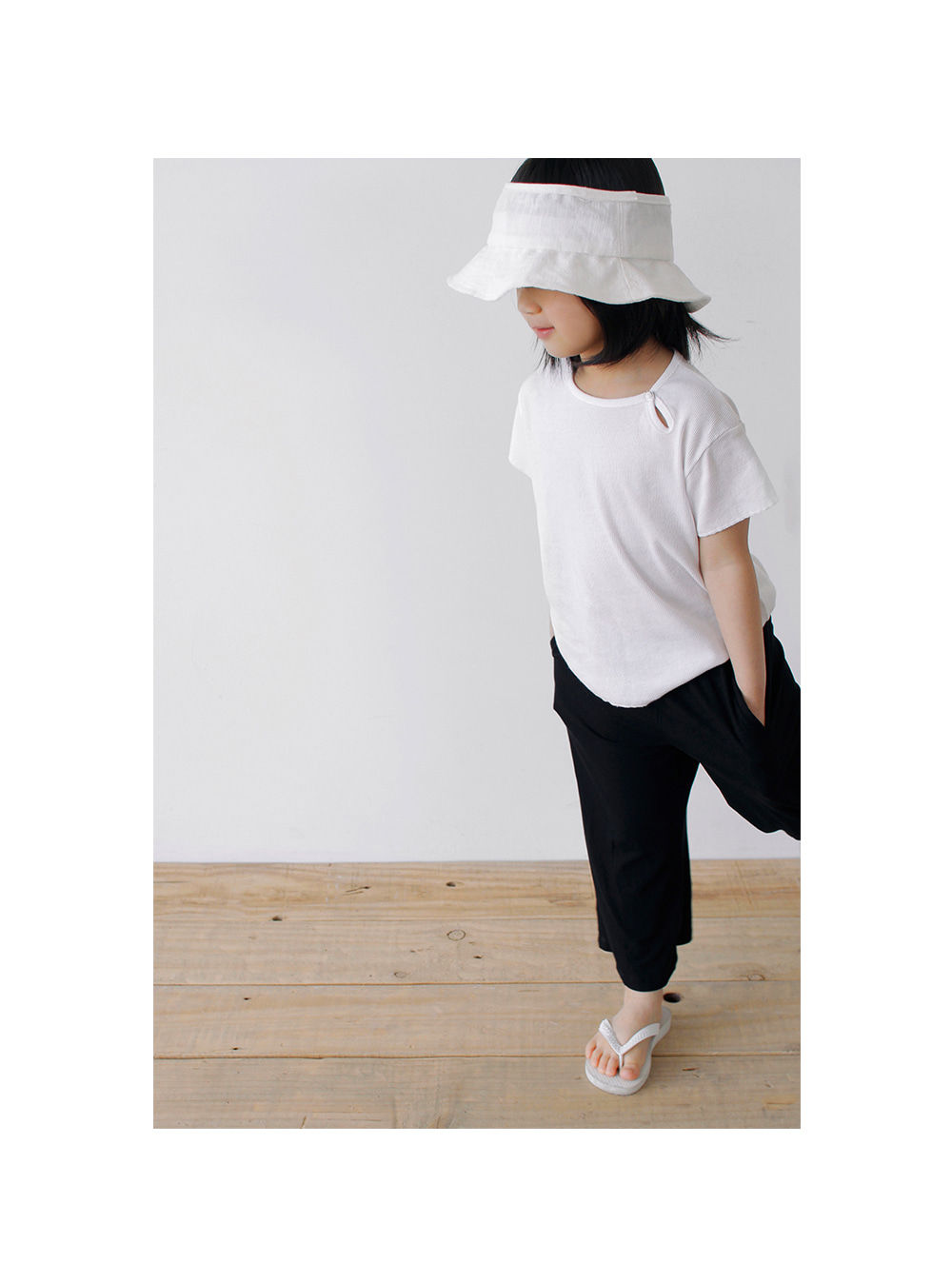 BIEN A BIEN - Korean Children Fashion - #Kfashion4kids - Round Bucket Hat