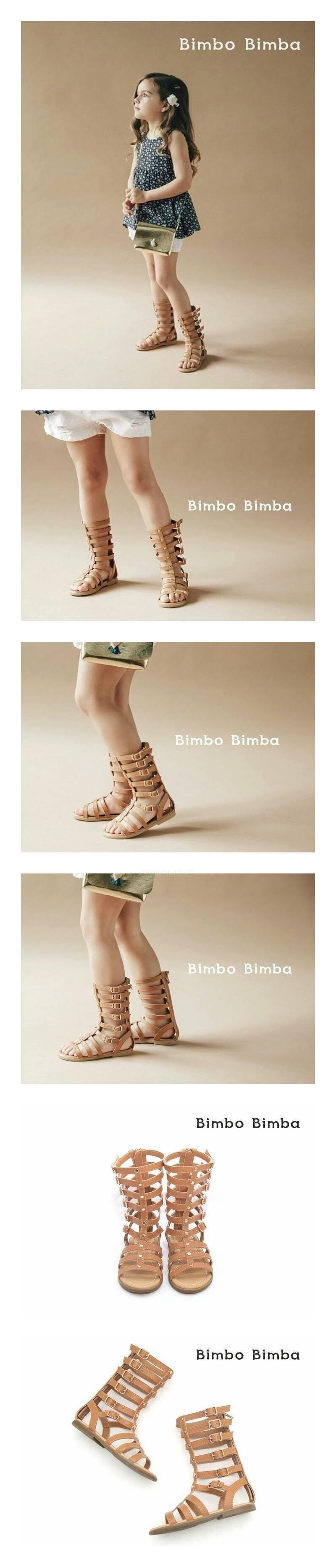 BIMBO BIMBA - Korean Children Fashion - #Kfashion4kids - Gladiator Sandal