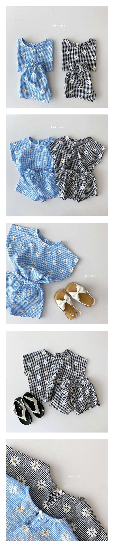 DAILY BEBE - Korean Children Fashion - #Kfashion4kids - Daisy Set