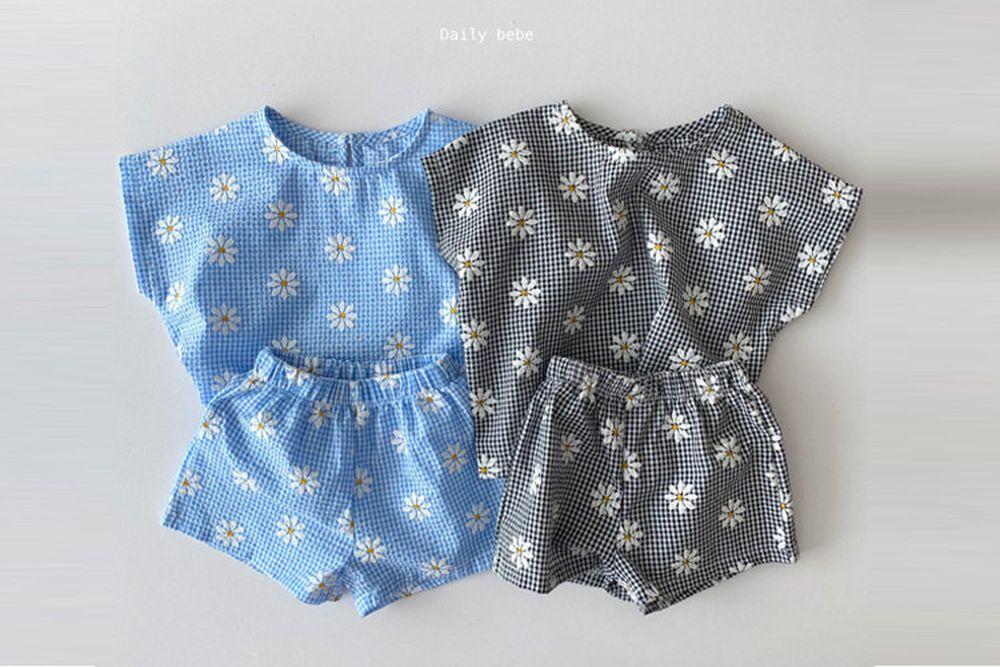 DAILY BEBE - BRAND - Korean Children Fashion - #Kfashion4kids - Daisy Set