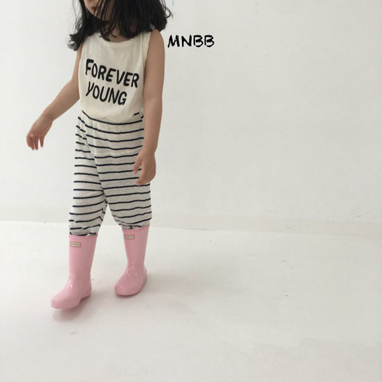 MINI BONGBONG - Korean Children Fashion - #Kfashion4kids - Forever Sleeveless Tee - 2
