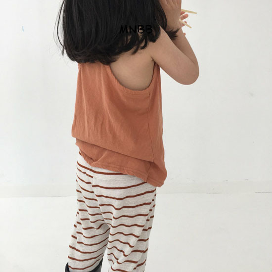 MINI BONGBONG - Korean Children Fashion - #Kfashion4kids - Forever Sleeveless Tee - 7