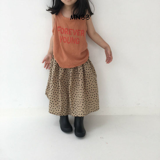 MINI BONGBONG - Korean Children Fashion - #Kfashion4kids - Forever Sleeveless Tee - 8