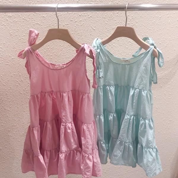 STUDIO M - BRAND - Korean Children Fashion - #Kfashion4kids - Blossom One-piece